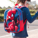 3D Spiderman Schoolrugzak