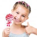 mayorista Carteles y paneles publicitarios: Gomas para el Pelo  Piruleta Junior Knows (pack de