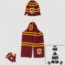 Harry Potter scarf glove hat
