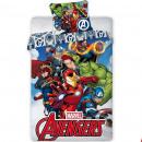 mayorista Artículos con licencia: funda de edredón + funda de almohada Avengers