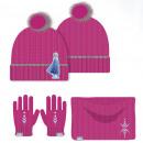 Handschoen beanie nekwarmer frozen - La Reine des