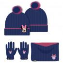 groothandel Licentie artikelen: Handschoen beanie nekwarmer Minnie