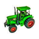 Tractor red / green, WB, about 12x6,5x7cm