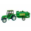 Großhandel Reiseartikel: Farmer Traktor mit Anhänger 4fach s.