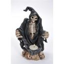 Skeleton Tea Light Holder, BB, about 15x13x20