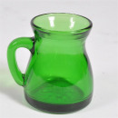 wholesale Drinking Glasses: Liquor jug ​​green, about 6,5x5x6cm