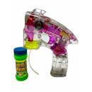 Großhandel Outdoor-Spielzeug: Seifenblasen Pistole m. Sound und Licht,