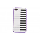wholesale Mobile phone cases: Handy Case piano keys farbl. Sort.,