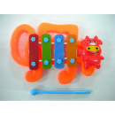 wholesale Music Instruments: Xylophone cow, OPP, about 14x9cm