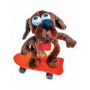 Großhandel Outdoor-Spielzeug: Tiere auf Skateboard 4fach sort., GK, ca