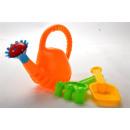 Großhandel Outdoor-Spielzeug: Sandspielzeug Gießkanne Set, Netz, ca. 2