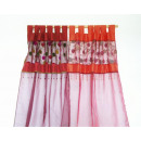 wholesale Curtains & Drapery: Curtain organza 2 color PB, approx. H: 215cm