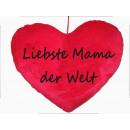wholesale Cushions & Blankets: Herzkissen Dearest Mama World, PB, ca