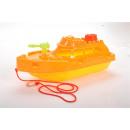 Großhandel Outdoor-Spielzeug: Sandspiel Boot farb. sort., Netz ca.