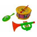 Großhandel Musikinstrumente: Jazz Trommel Set, OPP ca.
