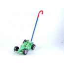 Großhandel Babyspielzeug: Rennwagen an Stab farbl.sort, OPP ca.