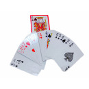 54 small playing cards BB; about 9x6cm
