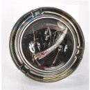 wholesale ashtray: Glass ashtray Skeleton 6x sort.