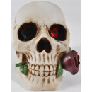 wholesale Artificial Flowers:Skull m. Rose, BB ca.