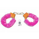 Handcuffs plush 2f.s. WB, about 15,5x1