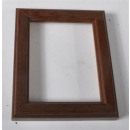 Picture Frames brown, about 9 x 11 cm