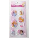 Sticker Disney Princess, AK ca.16,5x6,5