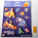 wholesale School Supplies: Sticker 3D Winnie the Pooh glow in the shows