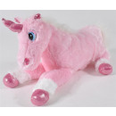 wholesale Business Equipment: Unicorn lying pink about 38cm long