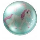 Magnet unicorn round ass., Diam. 4 cm