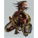 Dragon ball coloré sur BB à propos 17x10x21,5c