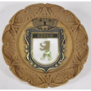 wholesale Business Equipment: Clay plate Berlin about 22 cm