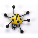 wholesale Business Equipment: Climbing ladybug yellow u. red sort.