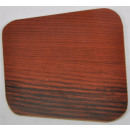 Plate wood decor about 14x14 cm