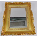 wholesale Mirrors: Mirror with frame in gold