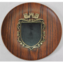 wholesale Business Equipment: Wall plate with coat of arms