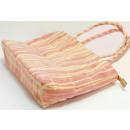 Großhandel sonstige Taschen: Faser Basttasche 4 farb.sort. PB,38x24cm