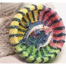 wholesale ashtray: Ascher bunt 6 fach sort. BB; about D: 10cm