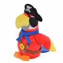 Großhandel Spielwaren: Laber-Piraten Papagei 'Parry', inklusive Batteri