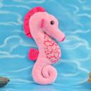 Petits amis de la mer, hippocampe, peluche, 30cm