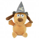 Laber dog with hat, including batteries