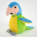 Großhandel Puppen & Plüsch: Laber-Papagei ''Samira'', grün, inklusive Batterie