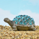 Design Maritim, Polyresin turtle with blue s