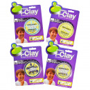 i-clay pop, 4 surtido , blister, 16,5x22,5c