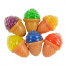 Flutschi-Ball, ice cream cone, 5x8cm, in the Displ