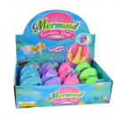 Squeeze mermaid in shell, 12 in diploma,