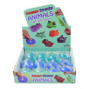 Flutschi animals, shark, 8.5x5.5cm, 2 assorted col