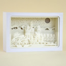 Lightbox, 3D Shadowbox, Neuschwanstein, blanco R
