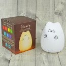 wholesale Home & Living: Cat lamp, Soft, battery operated, 16x12cm