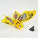 Großhandel Geschenkartikel & Papeterie: Fliegender Schmetterling, mit Nylonschnur, ca. 45x