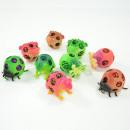Netzball-Tiere, 4 verschiedene sortiert, 6cm, im D